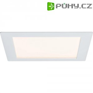 Vestavné LED osvětlení Paulmann Premium Line, hranaté, 8 W, bílá