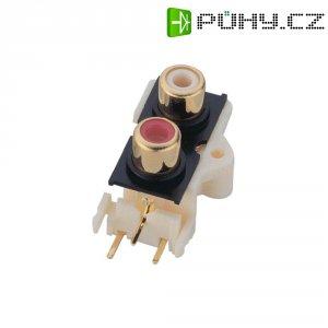 Připojovací deska cinch BKL Electronic, 2pól.