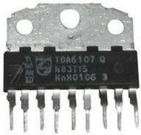TDA6107Q - videozesilovač RGB, SIL9