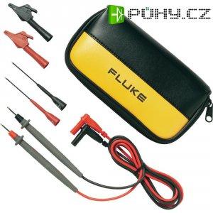Sada měřicích kabelů banánek 4 mm ⇔ měřící hrot Fluke TL80A-1, 1,5 m, černá/červená