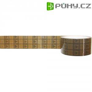 ESD lepicí páska s mřížkou BJZ C-102 048, 34 m x 48 mm, černá