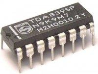 TDA8395P - dekodér SECAM, DIP16