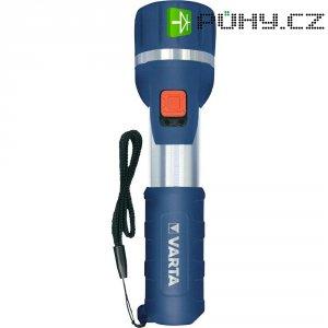 Kapesní LED svítilna Varta Day Light, 0,5 W, modrá/stříbrná
