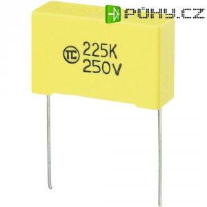 Foliový kondenzátor MKS, 2,2 µF, 250 V, 5 %, 32 x 11 x 20 mm