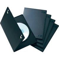 DVD box, 7,5 mm, 5ks, černá