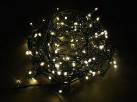 Řetěz vánoční 200 LED 18m teplá bílá