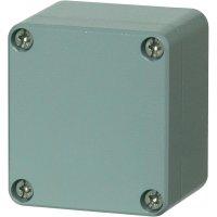 Hliníkové pouzdro Fibox ALN 161609, (š x v x h) 163 x 162 x 91 mm, stříbrná (AL 161609)