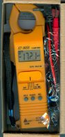 Multimetr KT9050 KILTER klešťový AC/DC, vadný displej