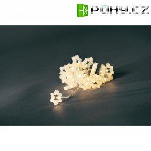Vánoční mini řetěz Konstsmide, 24 LED hvězdiček