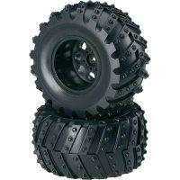 Monstertruck kolo Reely, 5 paprsků, 1:10, 12 mm 6-hran, černá, 2 ks (CB3606BB1)