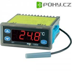 Panelový termostat FOX D1004, 2 A, 2 relé