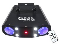Efekt Stroboskop/Laser/LED Moonflower IBIZA COMBO 3v1