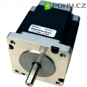 Krokový motor Trinamic Qmot Hybrid QSH6018-65-28-210, 60 mm, 1,8°,1 Nm, Ø hřídele 8 mm