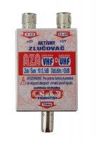 Anténní slučovač aktiv. AZA UHF+VHF IEC