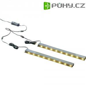 Dekorační LED osvětlení skleněných podlah Paul Neuhaus, sada 2 ks, bílá (1202-00)