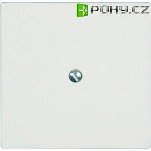 Zaslepovací kryt Busch-Jaeger Solo, čtvercový, plast, bílá