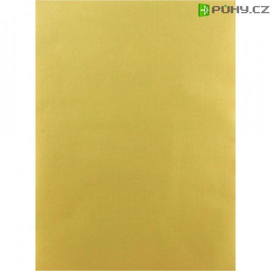 Samolepící polyesterová fólie, 297 x 210 mm, zlatá - Kliknutím na obrázek zavřete