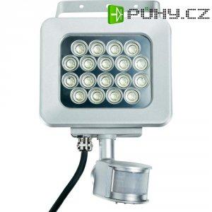 Venkovní LED reflektor s detektorem pohybu PIR, 20 W, denní bílá (202D18-2B)