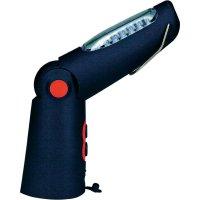 Multifunkční akumulátorová LED svítilna Ampercell Vario 21 + 5, 05075, černá