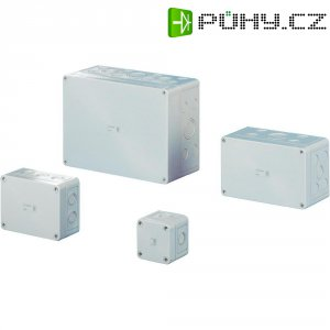 Svorkovnicová skříň polykarbonátová Rittal 9521.050, (š x v x h) 254 x 180 x 111 mm, šedá (9521.050)
