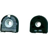 Uhlíkový trimr TT Electro, 1541017, 500 Ω, 0,25 W, ± 20 %