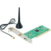WLAN PCI zásuvná karta, 150 MBit/s, 2.4 GHz