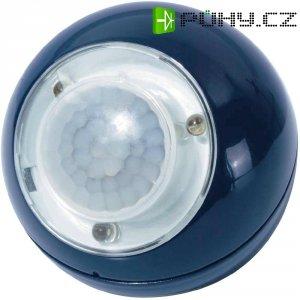 Přenosné LED světlo koule s PIR čidlem GEV, 3x LED, modrá (00735)