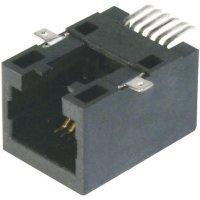SMD konektor RJ45 BKL Electronic A-20042-LP/SMT-A (143125), zásuvka rovná