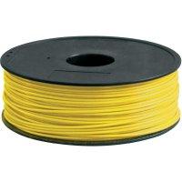 Náplň pro 3D tiskárnu, Renkforce ABS300Y1, ABS, 3 mm, 1 kg, žlutá