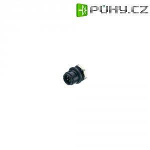 Kulatý konektor submin. Binder 710 (09-9477-00-07), 7pól., zástrčka vest., 0,14 mm², IP40