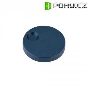 Otočný knoflík s prohlubní na prst Alps 863002, 6 mm, antracit