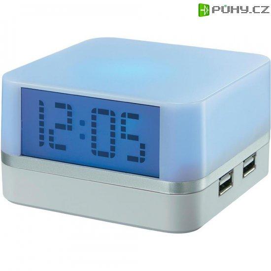 USB hub s hodinami - Kliknutím na obrázek zavřete