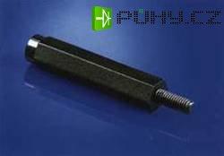 Vymez. svorník M4 vnitřní/vnější, otvor klíče 8 - 10 mm