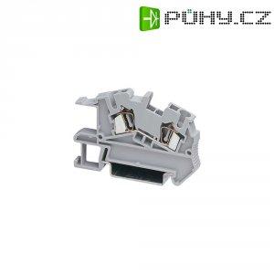 Pružinová instalační svorkovnice Phoenix Contact STI 4 (3031953), AWG 28-12, šedá