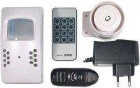 Minialarm s kamerou, DVR a GSM modulem JK-017
