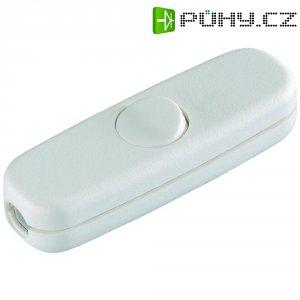 Šňůrový vypínač interBär , 1pólový, 250 V/AC, 3 A, bílá