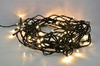 Řetěz vánoční 300 LED, 30m 1V04-WW přívod 5m, IP44, teplá bílá SOLIGHT