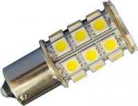 Žárovka LED Ba15S 12V/4W bílá, 27xSMD5050
