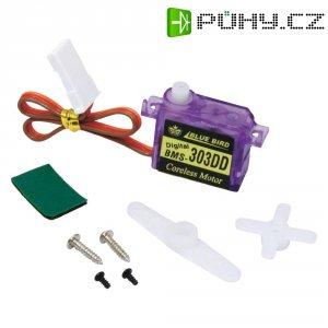 Digitální mikro servo Bluebird BMS-303DD, JR konektor