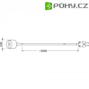 Teplotní čidlo Greisinger GMF 200, typ K, -65 až +200 °C, 101010