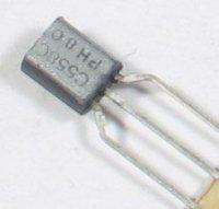 BC558C P UNI 30V/0,1A TO92