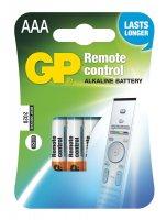 Baterie AAA(R03) alkalická GP do dálk.ov. (blistr 4ks)