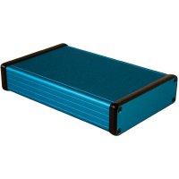 Univerzální pouzdro hliníkové Hammond Electronics, (d x š x v) 160 x 103 x 30,5 mm, modrá