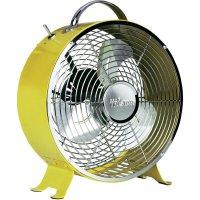 Stolní ventilátor Tristar VE-5964, Ø 25 cm, 20 W, žlutá