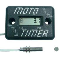 Elektronické počítadlo provozních hodin Motogroup MT-003, IP67