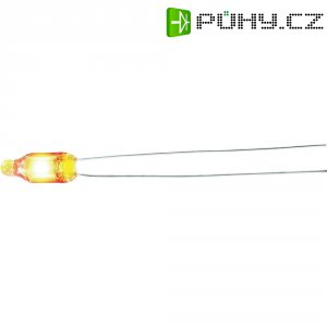 Doutnavka, 0,5 mA, 230 V, 4 x 16 mm, oranžová
