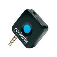 Hrudní pás s měřením pulzu pro smartphony Runtastic RUNDC1, černá