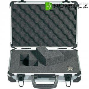 Hliníkový kufr s pěnovou výplní BaseTech 824064, 330 x 230 x 90 mm