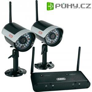 Sada 2 bezdrátových venkovní kamer 2,4 GHz a přijímače ABUSS TVAC15300, 400 TVL