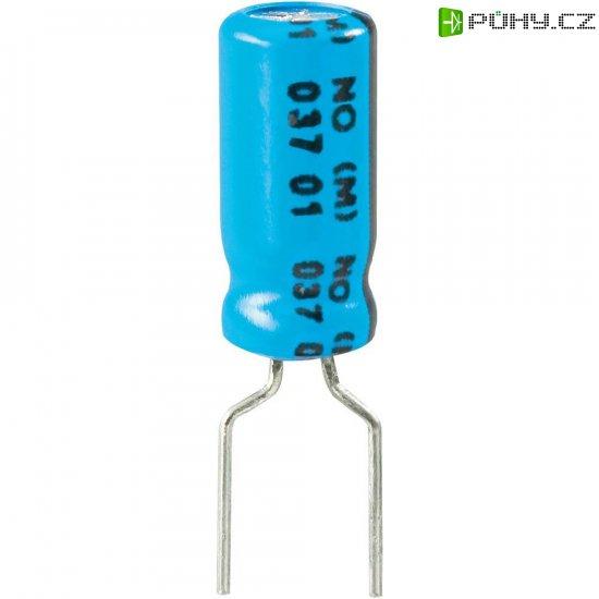 Kondenzátor elektrolytický Vishay 2222 037 36479, 47 µF, 25 V, 20 %, 11 x 5 mm - Kliknutím na obrázek zavřete